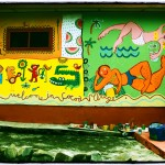 Cocoa Village Guesthouse wall paintings