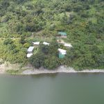 Cocoa Village Guesthouse from the air