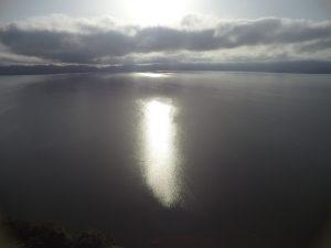 Morning on Lake Bosumtwe