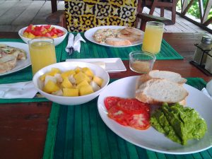 Cocoa Village Guesthouse special breakfast