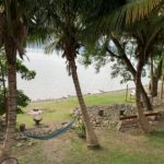 Cocoa Village hammock in front of Lake Bosomtwe beach